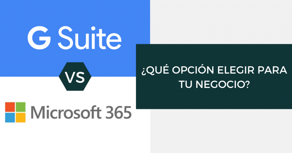 G Suite vs Microsoft365