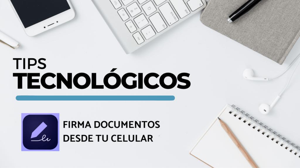 firmar documentos online