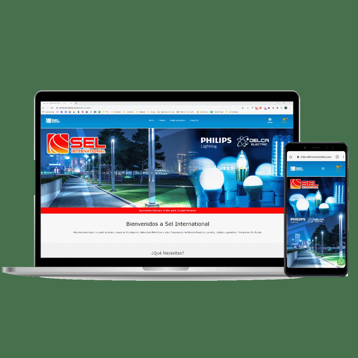 Tienda online Sel International