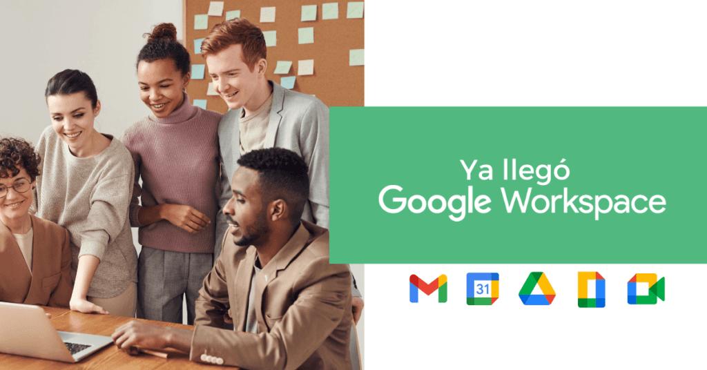 nuevo google workspace